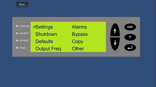 электронный конфигуратор, ассистент пусконаладки Symmetra LX