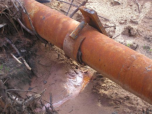«Хомут» для герметизации аварийного трубопровода